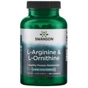 L-Arginine & L-Ornithine (100 kap.)