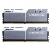 Memorie G.Skill Trident Z 16GB (2x8GB) DDR4 3733MHz 1.35V CL17 Dual Channel Kit - Silver/White, F4-3733C17D-16GTZSW