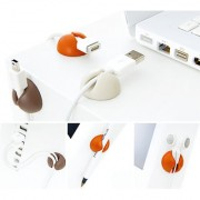 Cable Clips Multipurpose Holder Organizer 18 pcs with Double Tape.