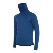 Bluza barbateasca 4f Blue, material functional