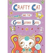 Crafty Cat and the Great Butterfly Battle (Harper Charise Mericle)(Cartonat) (9781626724877)