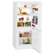 Combina frigorifica Liebherr CU 2331, 209 L, SmartFrost, Control mecanic, 2 sertare legume, Iluminare LED, H 137.2 cm, A++, Alb