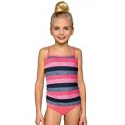 Costum de baie pentru fete Isabelka dungi 140