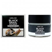 LEBELAGE «Black Snail Eye Cream» Крем с муцином чёрной улитки для области вокруг глаз, 70 мл.