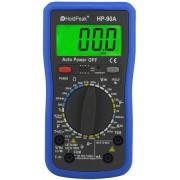 HOLDPEAK 90A Digitális multiméter VDC VAC ADC AAC ellenállás kapacitás hőmérséklet frekvencia.