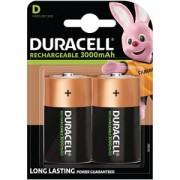 Duracell uppladdningsbara batterier, D-storlek (HR20)