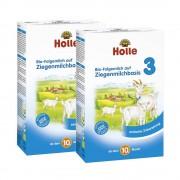 Holle 2 x Bio-Folgemilch 3 auf Ziegenmilchbasis ab dem 10. Monat (2x400g)