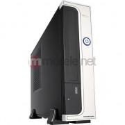 Carcasa pc , Modecom , FEEL 302 Mini ITX 96W, negru cu argintiu