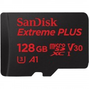 Memorija Micro SDXC 128GB Sandisk, Class 10, UHS-I U3 Extreme + SD adapter
