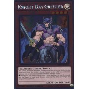 Yu Gi Oh! Knight Day Grepher (Nkrt En015) Noble Knights Of The Round Table 1st Edition Platinum Rare By Yu Gi Oh!