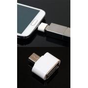 Мини OTG USB (женски) към Micro USB