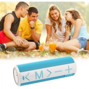 BLUETOOTH WIRELESS PORTABLE LOUD BLUETOOTH V3.0 SPEAKER SOUND SYSTEM TF CARD MUSIC OUTDOOR CYCLING BLUE LOUD CLEAR SOUND