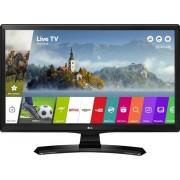 LG 24mt49s Monitor Tv Led 23.6 Pollici Hd Ready Digitale Terrestre Dvb T2/s2 Smart Tv Internet Tv Web Os 3.5 Wifi Miracast Lan Hdmi Usb Colore Nero - 24mt49s-Pz ( Garanzia Italia )