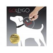 Hundkoppel GoLeyGo Svart Storlek S 1 st