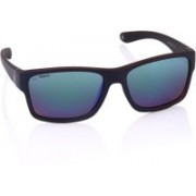 Joe Black Round Sunglasses(Blue)