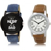 The Shopoholic Black White Combo New Stylist Latest Black And White Dial Analog Watch For Boys Watches Men Stylish