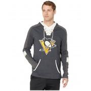 47 NHL Pittsburgh Penguins Tahoe Lace-Up Hoodie Jet Black