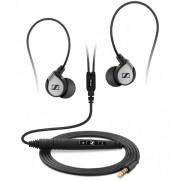 Sennheiser MM 80 Travel - слушалки с микрофон за iPhone, iPod и iPad (черен)