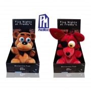 Set 2 Piezas Peluche Foxy Freddy Phatmojo Freddy Five Nights