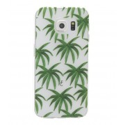 Fabienne Chapot Smartphone covers Palm Leaves Softcase Samsung Galaxy S6 Edge Groen