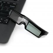 EY 3D IR Vidrios Activos Del Obturador Para BenQ W1070 W700 W710ST DLP-Link Proyectores Negro.