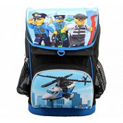 LEGO City, Ghiozdan scoala Maxi cu sac sport Police Chopper