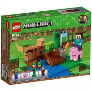 Set de constructie LEGO Minecraft Ferma de Pepeni