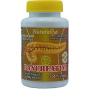 Pancreatina 100 Tabletas 1400mg