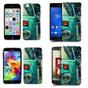 Husa Samsung Galaxy S Duos S7562 / Trend S7560 / Trend Plus S7580 Silicon Gel Tpu Model Vintage Car