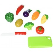 Healthy Vegetables Toy For Childrens Playtime Kitchen Fun Cut Chop The Food For Pretend Play Eating Meal Time