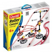 Set constructie, Roller Coaster mini rail, 8 metri, 6430 Quercetti