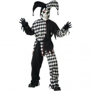 California Costume Collection Boys Evil Jester Child Costume - Polyester, Exclusive of Trim - Medium by California Costumes