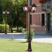 LIBERTI LAMP linea GARDEN Athena Lampione Palo 3 Luci Illuminazione Esterno Giardino