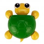 Držiak na zubné kefky korytnačka ZELENÁ