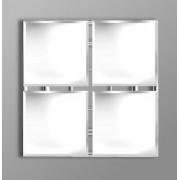 Quatro Large Square Mirror
