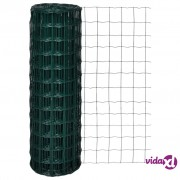 vidaXL Euro ograda 25 x 1,2 m s 100 x 100 mm očicama