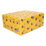 Disney Inpakpapier Minions geel 200 x 70 cm op rol
