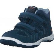 Viking Cascade Ii Mid Gtx Navy/denim, Skor, Sneakers och Träningsskor, Walkingskor, Blå, Barn, 26