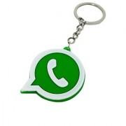 Whatsapp Rubber Pvc Keychain