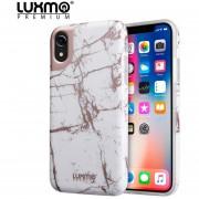 Funda Case iPhone Xs Max Protector de Plástico tipo Marmol