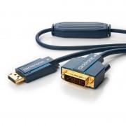 Cavo Monitor DisplayPort Maschio a DVI-D Maschio 7,5 m Blu