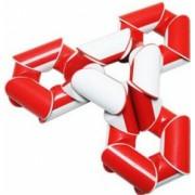 Cub Rubik Twist Snake 24 de piese Sarpe Geometric Red 184CUB