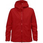 FjallRaven Abisko Eco-Shell Jacket W - Red - Vestes de Pluie M
