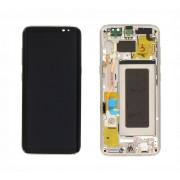 Display cu touchscreen si rama Samsung Galaxy S8 G950f Gold