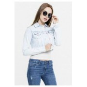 Geaca short denim jacket dama - Urban Classics - HEAVY-PRESPALAT
