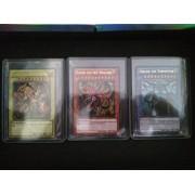 YuGiOh Legendary Collection Ultra Rare God Card Set of 3 Egyptian God Cards Slifer, Obelisk Ra (LIMI