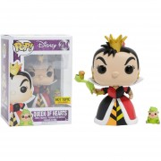 Funko Pop Queen Of Hearts Disney Hot Topic Sticker Exclusiva