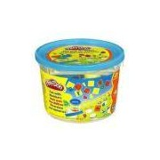 Massinha Play-Doh Mini Balde Azul Números 23326 - Hasbro