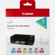 Canon Multipack de 6 cartouches d'encre Canon PGI-29 C/M/Y/PC/PM/R