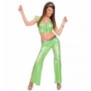 Zöld hologramos nadrág M méret